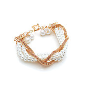 Fine Imitation Pearl Women's Bracelets (More Colors)