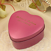 Personalize Heart Shaped Metal Favor Box - Small (Set of 24)