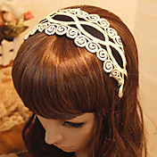 Women's Vintage Folk Style Auspicious Cloud Lace Headband