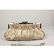 Damenmode Stilvolle Perle Clutch