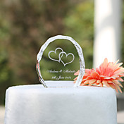 Crystal Cake Topper - Heart
