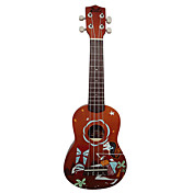 (Abstract Painting) Laminated Basswood Soprano Ukulele with Bag/String/Picks