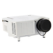 Mini HD Accueil Projecteur LED 320 * 240 Cinema Theater, PC portable VGA entrée USB UC28