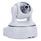 H.264 Wireless IP Camera with IR-CUT and 32GB SD Card Slot(Two-way Audio,Pan/Tilt, Day/Night)