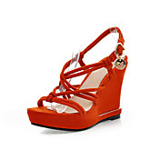 Stylish Suede Wedge Heel Sandals Party / Evening Shoes(More Colors)