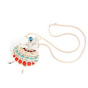 Fashion Alloy with Crystal Necklace