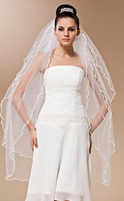 Four-tier Tulle Waltz Length Veil