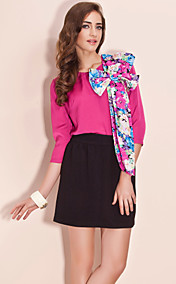 TS Printed 3/4 Sleeve Blouse Shirt (More Colors)