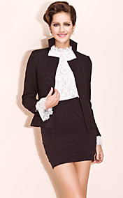 TS Basic Joker Slim Blazer with Stand Collar