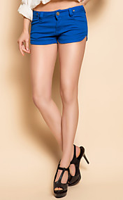 TS Garment Wash Blue Denim Shorts