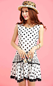 TS VINTAGE Polka Dots Dress Bassa salita