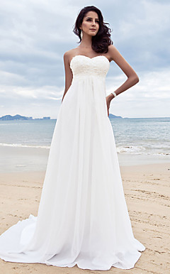REJANA - Abito da Sposa in Chiffon