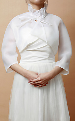 Gorgeous Chiffon 3/4-Sleeve Women's Evening/Wedding Jacket/Wrap (More Colors)