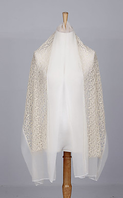 Pretty Lace & Voile Wedding/Evening Shawl/Scarf (More Colors)