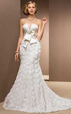 FOREST HEATH - Abito da Sposa in Chiffon e Raso