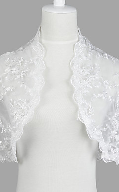 Nizza Short Sleeve Lace Evening / Casual Wrap / Jacke
