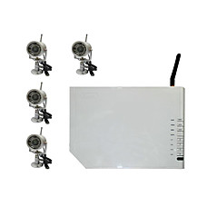 venta al por mayor 4 cámaras de visión nocturna inalámbrica + 4 canales