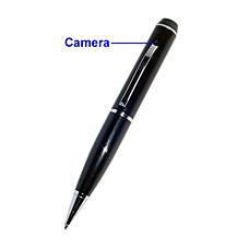 venta al por mayor estilo de la pluma espía cámara con sensor de movimiento (4GB)