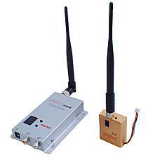 venta al por mayor 1.2G Wireless 8-ch 800MW de la habitación a habitación de audio / vídeo Fox remitente-800A (sfa226)