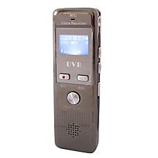 venta al por mayor 4g activado por voz grabadora de voz digital con formato mp3, conexión de teléfono y reproductor de radio FM (tra619)