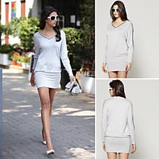 venta al por mayor hombro desnudo cuello cuentas blusa de manga larga / blusas de las mujeres (ss-d-cc1252002)