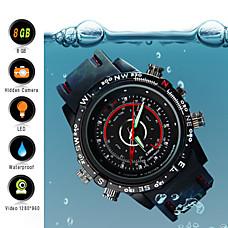 venta al por mayor Reloj Espía 8GB Impermeable con Cámara Oculta