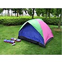 Two People Twin Size Tent+ Moisture Resistant Pad+24LED Tent Light (HYYP180)(Start From 10 Units)