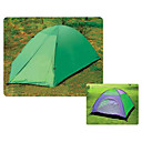 Three People Twin Size Single Color Outdoor Camping Tent (HYYP113)(Start From 10 Units)