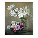 Handmade Flowers Art Oil Painting on Canvas High quality GDH-160 (Start From 20 Units) Free Shipping
