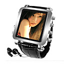 "2gb Mens Watch metallico MP4 / MP3 player-1.5 ""schermo OLED (cavs010)"