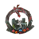 Decorated Grapevine Christmas Wreath (SDBG073)(Start From 100 Units)-Free Shipping