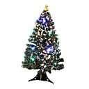Decorated LED Pine Fiber Potted Christmas Tree,150CM (GQL-022)(Start From 5 Units)-Free Shipping
