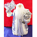 Silver Santa Clause Christmas Ornament (LR049) (Start From 30 Units)-Free Shipping