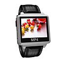 "2GB Bluetooth MP4 / MP3 Player Watch/1.5""TFT Display / White / S828-2BT"