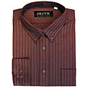 Classic Long Sleeve Stripe Dress Shirt (CHS031) -Free Shipping