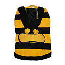 Adorable Bee Dog Dress -Fleece(BV055)