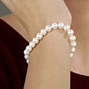 White 7.5-8 mm AAA Freshwater Pearl Bracelet (DSZZ081-1) Start From 5 Units) -Free Shipping