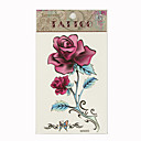 Rose Temporary Tattoos One Sheet  (Start From 50 Units)