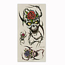Skull Temporary Tattoos One Sheet  (Start From 50 Units)