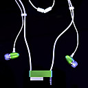 Nano2 Color Lanyard Earphone Green M907 (SZL029) (Start from 30 units)