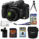 Panasonic Lumix DMC-FZ18 8.9MP Digital Camera + 2GB SD Card + Extra Battery + 6 Bonus