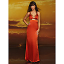 Empire Straps Floor-length Chiffon Prom / Evening Dress (HSX319) (Start From 3 Units) Free Shipping