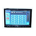 7-inch Touch Screen 2 Din In-Dash Car DVD Player TV and Bluetooth Function C-TD700BT