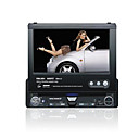 Da 7 pollici touch screen 1 DIN auto in-dash DVD TV player e bluetooth - staccabile pannello jzy-7t (szc432)