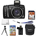 Canon Powershot SX110 IS 9.0MP Digital Camera with 3.0-inch LCD + 4GB SD + 6 Bonus (SZW588)