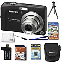 Fujifilm Fuji FinePix F60fd 12.0MP Digital Camera with 3.0-inch LCD+4GB SD+Battery+6 Bonus (SZW599)