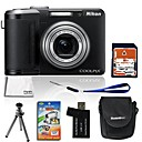 Nikon Coolpix P60 8.5MP Digital Camera with 2.5-inch LCD + 4GB SD + 6 Bonus (SZW609)