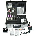 Tattoo Kits 2 Guns Machines 4 Tubes with 4 Grips 50 Needles