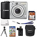 Canon PowerShot A1000 IS 10MP Digital Camera with 2.5-inch LCD + 4GB SD + 6 Bonus(SZW584)