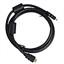 1.8M HDMI Cable Male to Male 28AWG with Ferrite Core for PS3 DVD HDTV(Z-502)